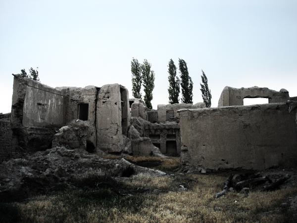 ruins of sadness