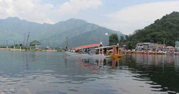 The tranquility of Dal Lake, Srinagar, Kashmir