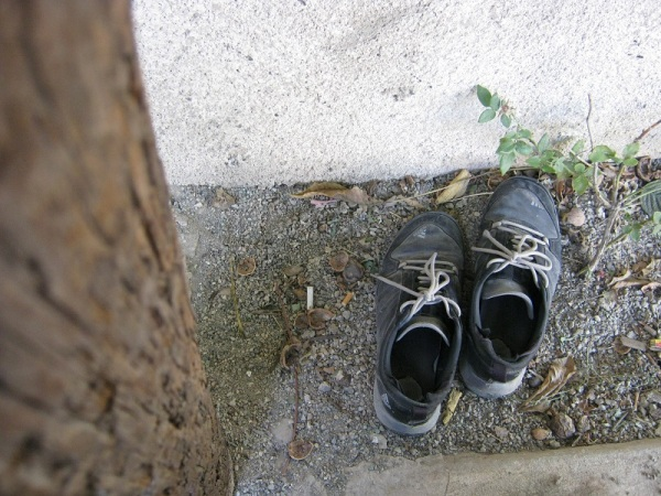 کفش هایش...