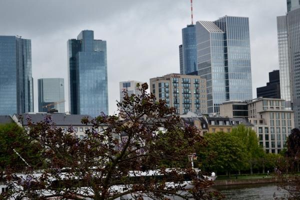 Grey Sunday in Frankfurt am Main