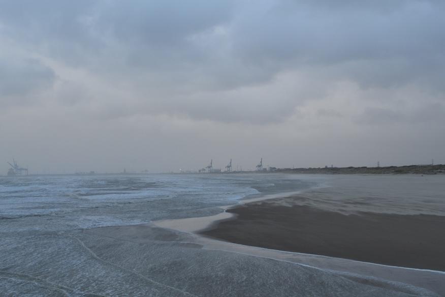 Stormy North Sea, Belgium