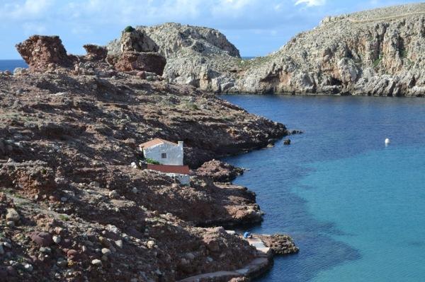 Rural beach of Menorca