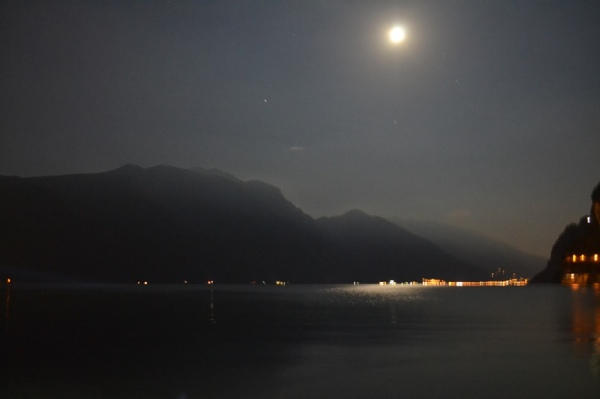Summer night, Rive del Garda, Italy