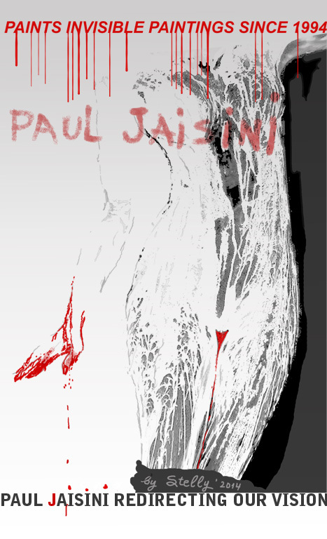 Homage to Paul Jaisini Invisible Paintings