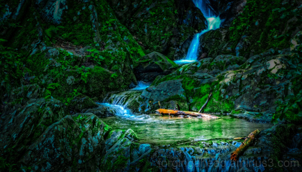 Blue Ridge Waterfall
