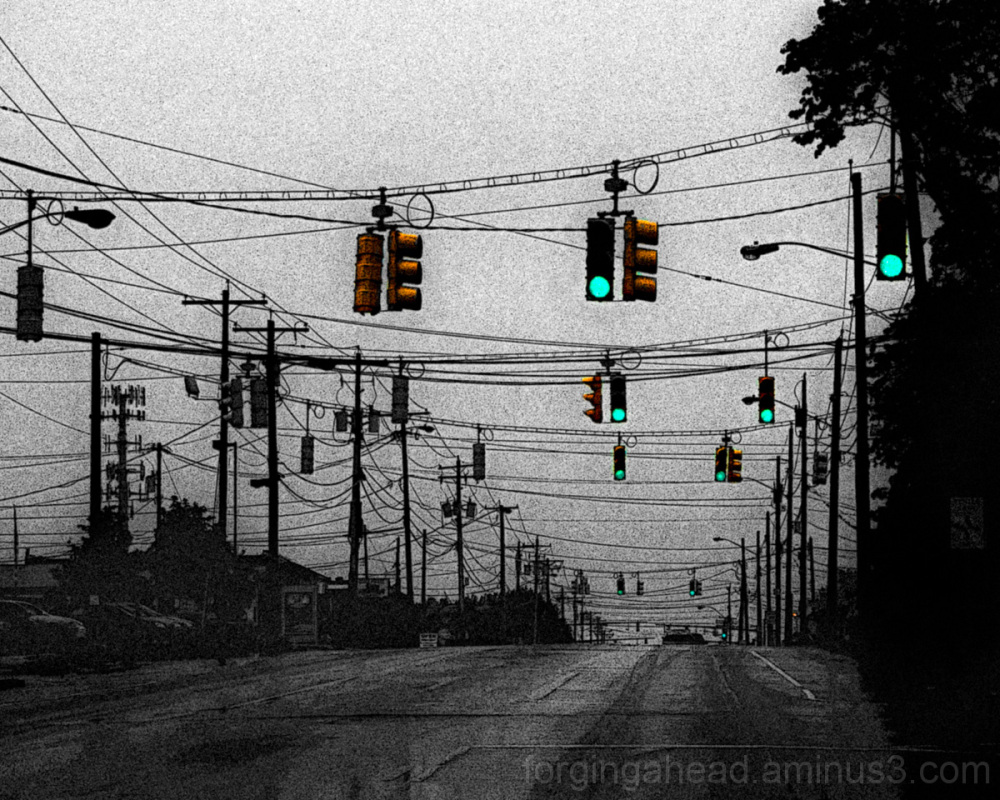 String of Traffic Signals