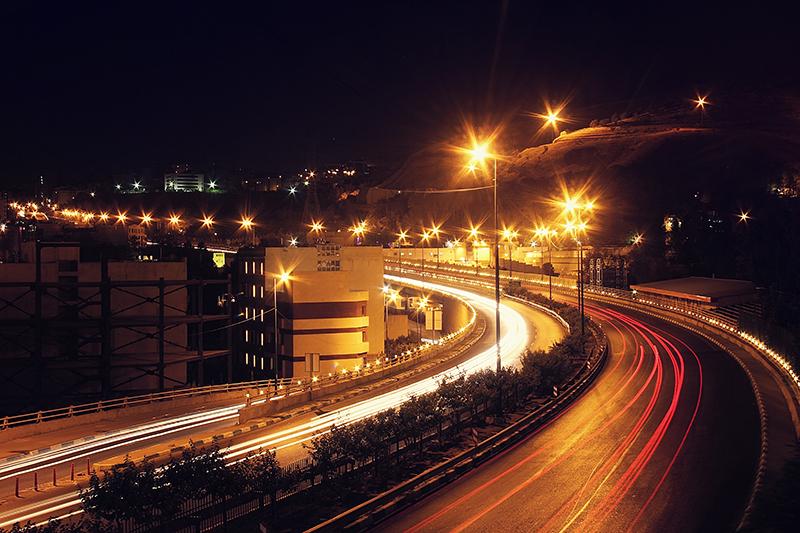 Tehran's nights*