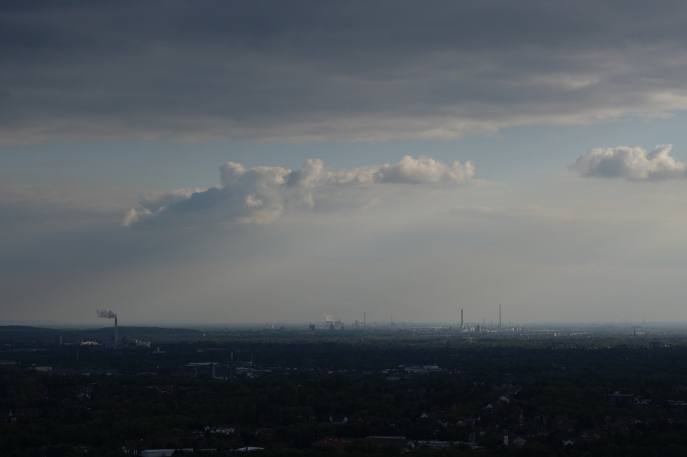 view clouds industry ruhr
