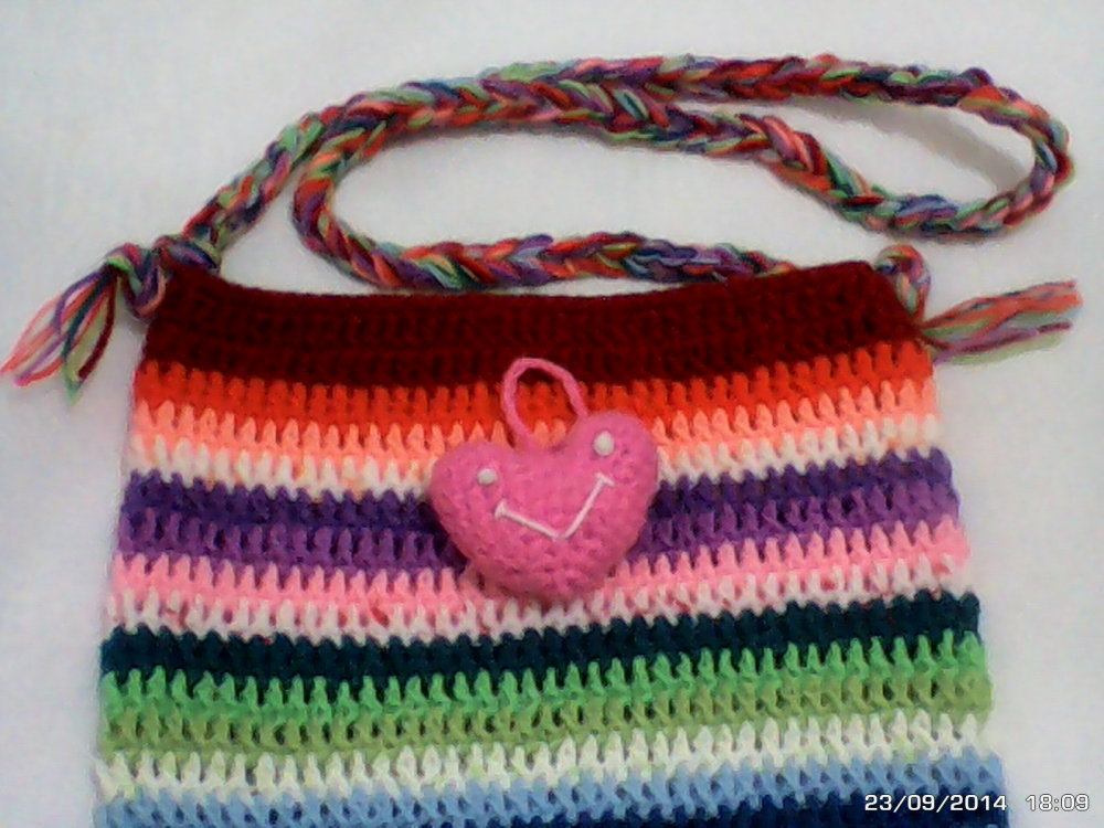 a lovely bag & heart