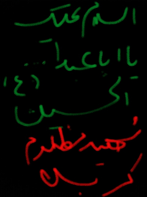 السلام علیک یا ابا عبدالله الحسین(ع)