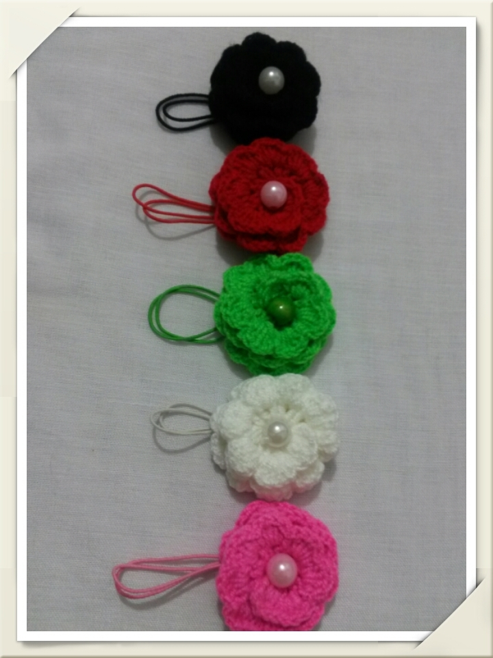 Crochet(hand-made,just for hair)