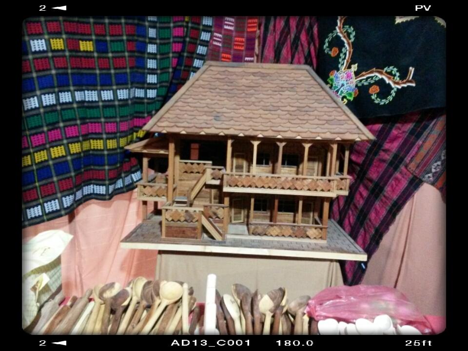 ماکت خونه چوبی