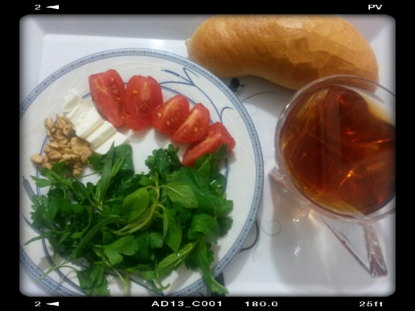 Breakfast(yesterday)