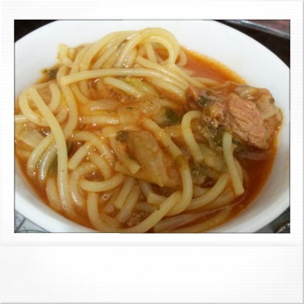 again a delicious soup