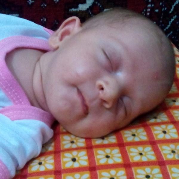 Naazanin Zahraa (nephew - newborn)