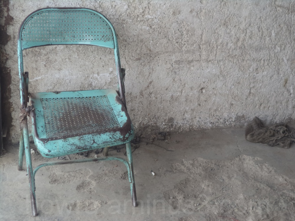 A single chair