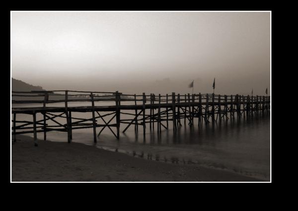 pier near koh tao