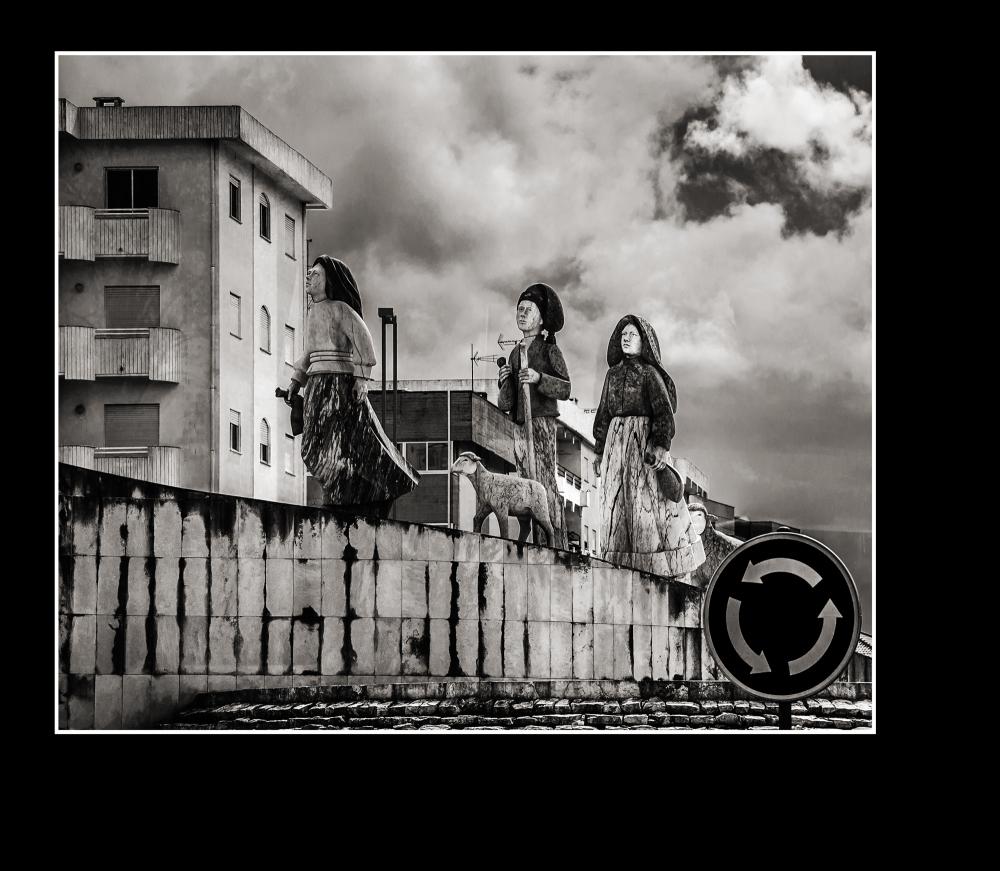 on the road (children of Fatima Portugal)