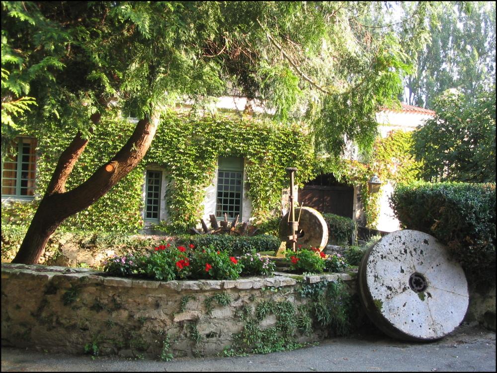 Moulin de Bourdeilles au bord de la domme