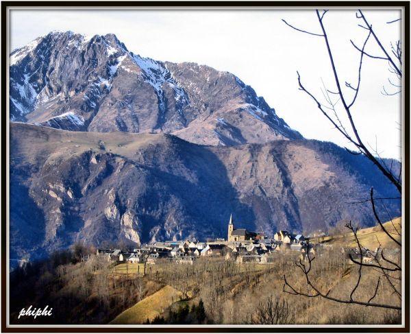 Le village d'estansan( st lary soulan)