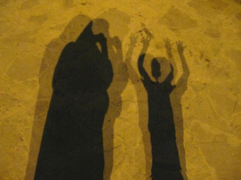 near shadows