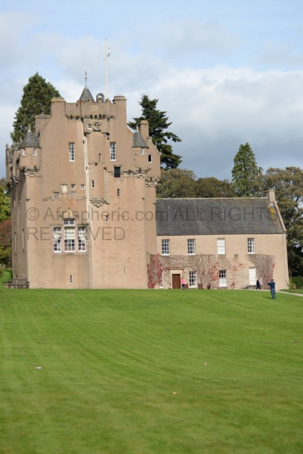 Crathes Castle Front