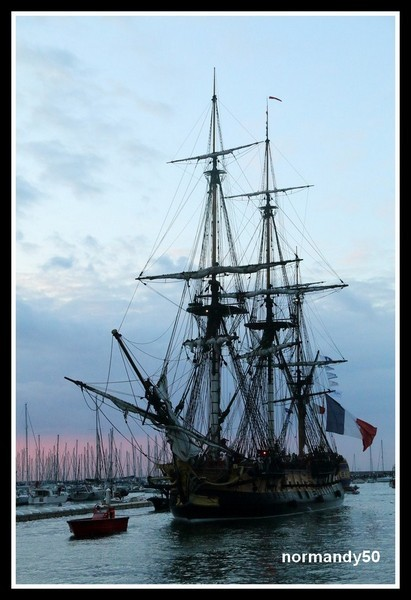HERMIONE A CHERBOURG