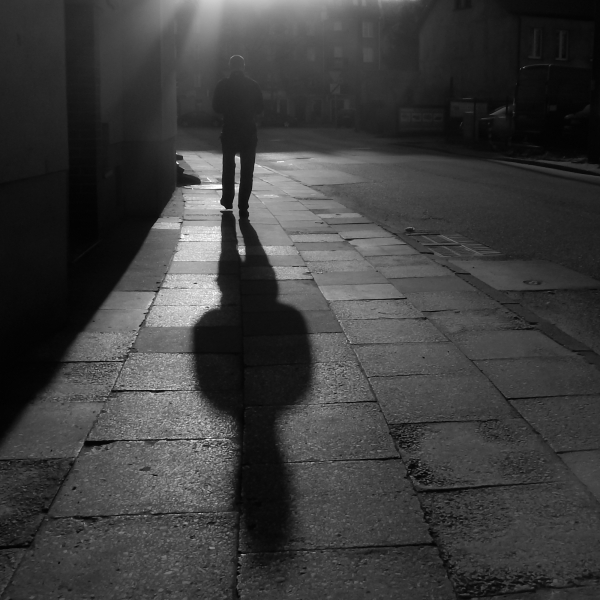 Man With Big Shadow