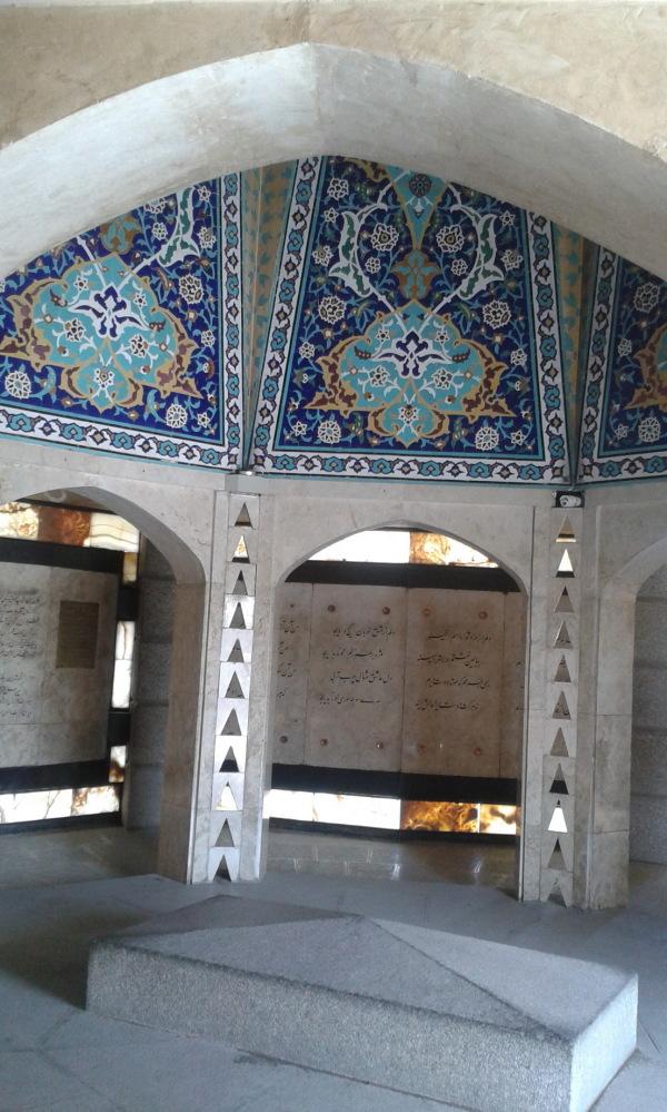 The Tomb of Baba Taher-Hamadan