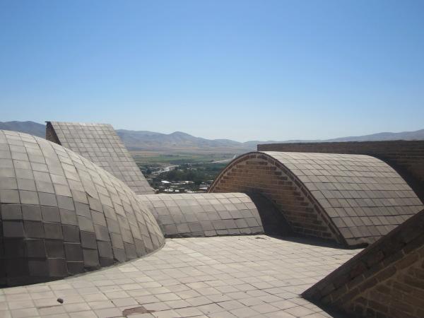 Farasfaj caravansary Tuyserkan Hamadan