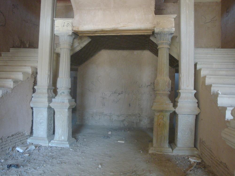 samsam saltaneh castle shar kord Iran