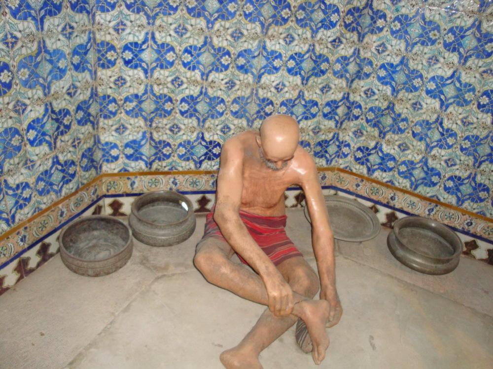 Ganjali Khan bathroom. Kerman. Iran.