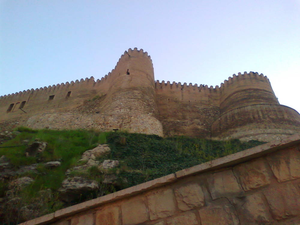 Falak_al_aflak Castle. Lorestan. Iran.