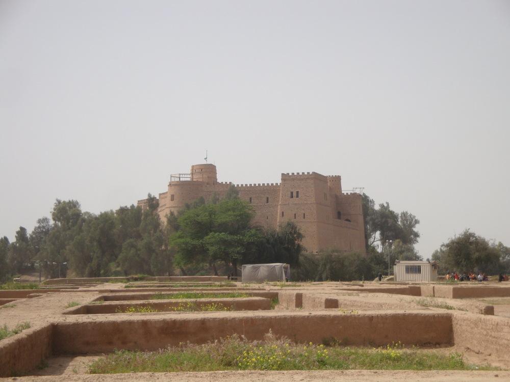 Apadana Palace. Susa. Khuzestan. Iran.
