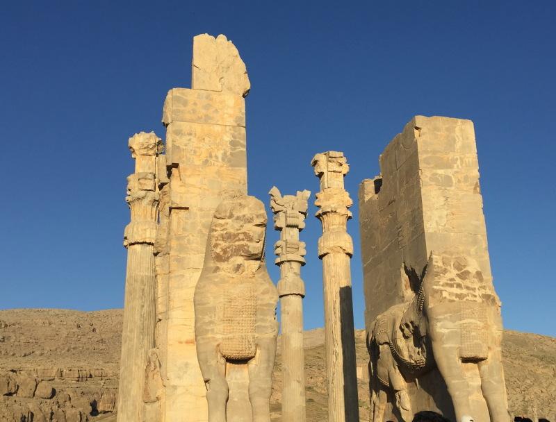 Persepolis . Shiraz . Iran.