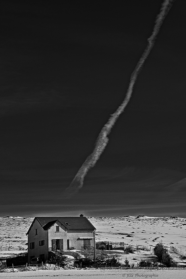 La cheminée ....