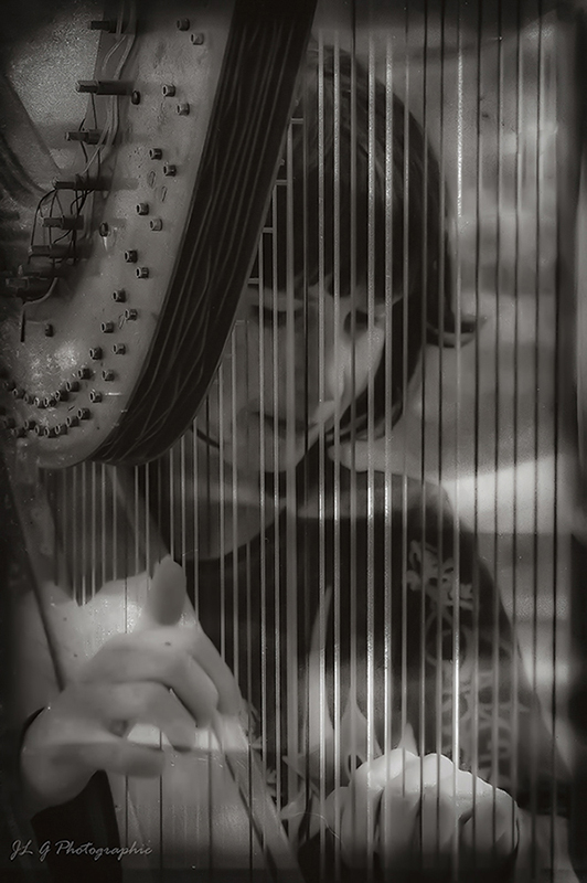Au son de la harpe ...