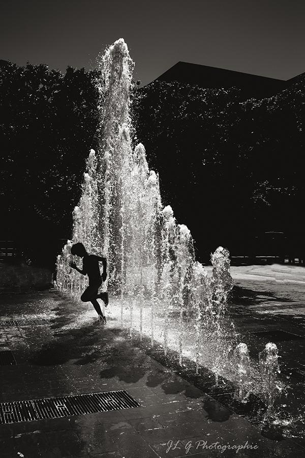 Rideau d'eau ...