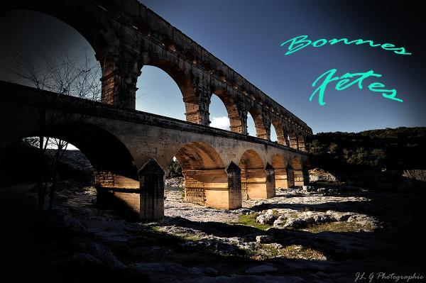 Le Pont du Gard ...