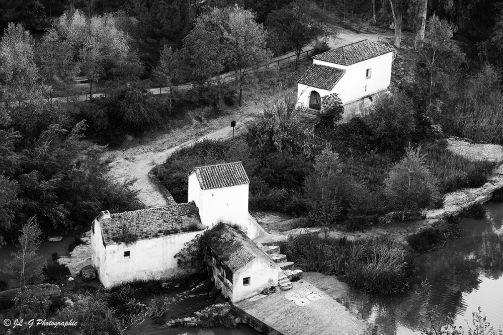 Les maisons blanches ...