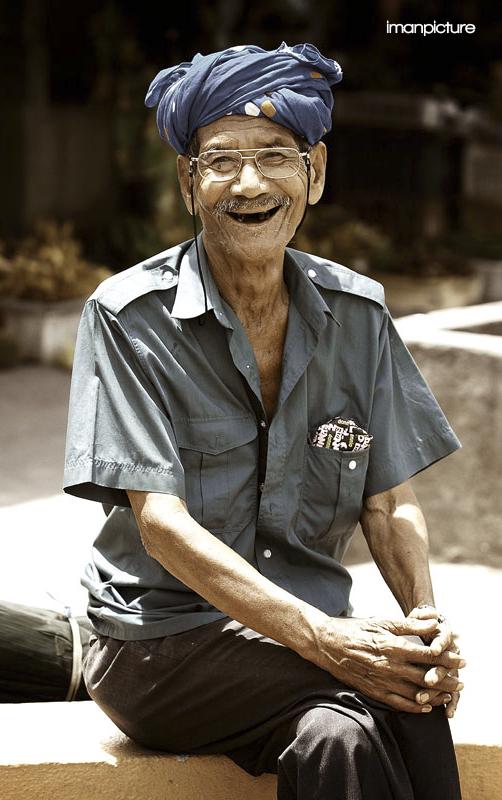 Kelantan Old Man Orang Tua Malaysia