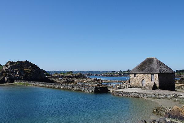 Île-de-Bréhat ./. Le Moulin à Marée ./. Tide mill
