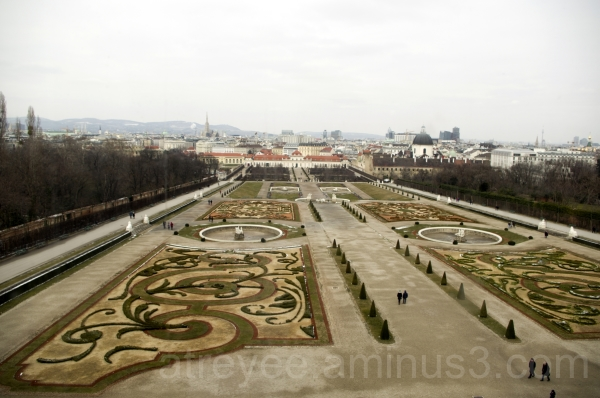 The Belvedere Gardens