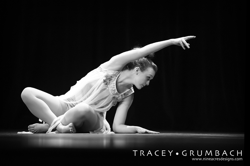 girl performing dance on stage