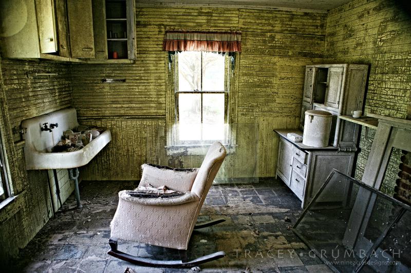 vacant rundown home