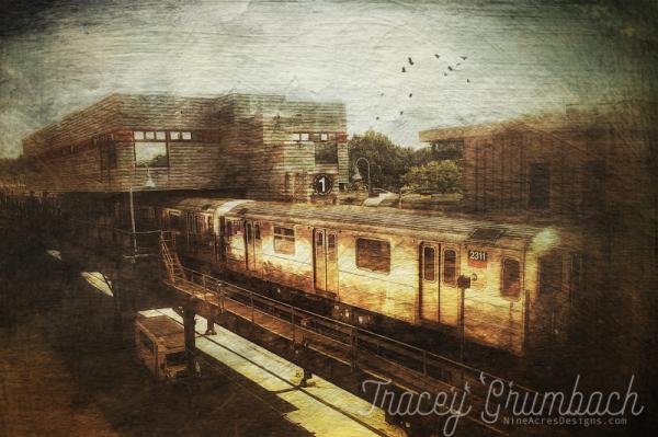 manhattan new york subway train