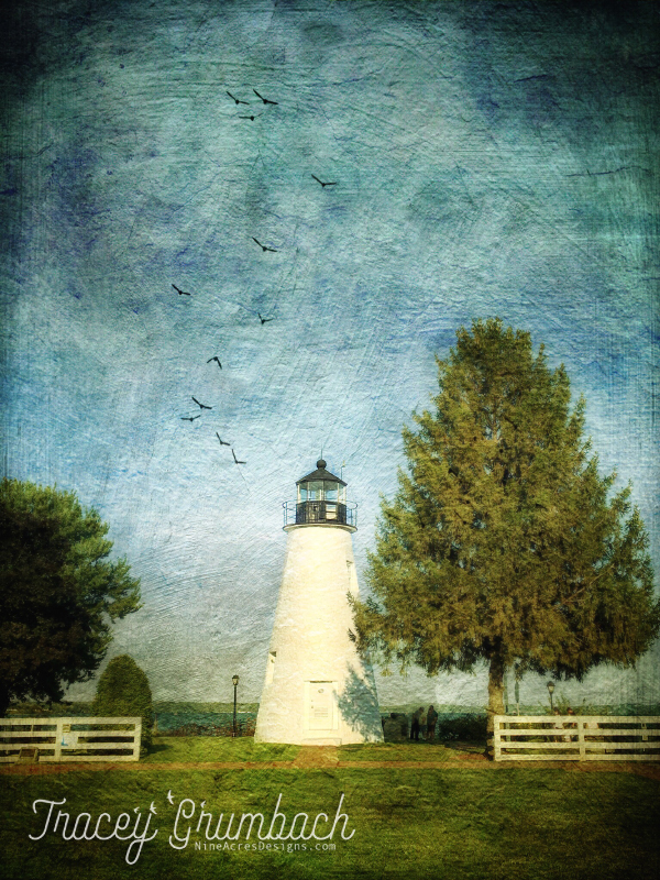 lighthouse in Havre de Grace, Maryland, USA