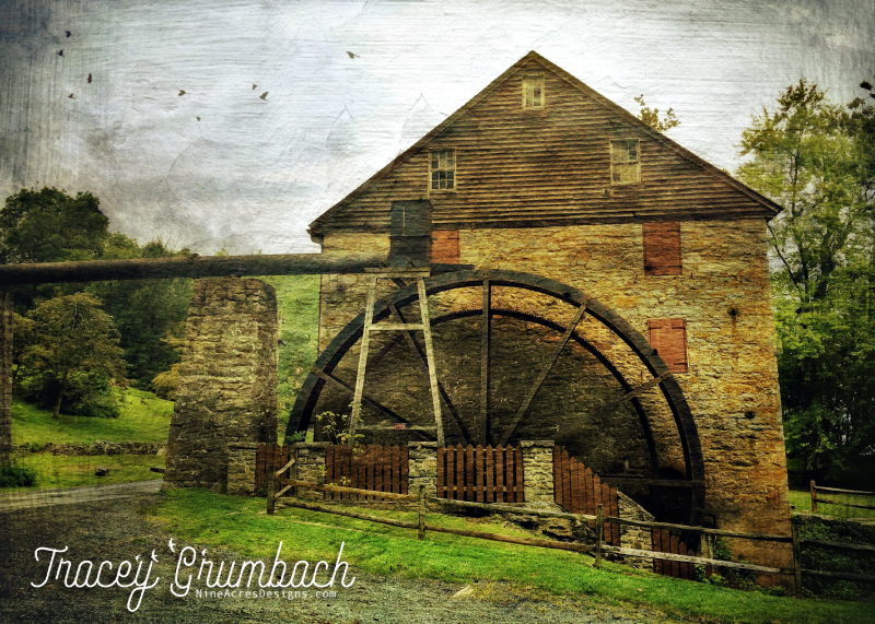 old rural grist mill