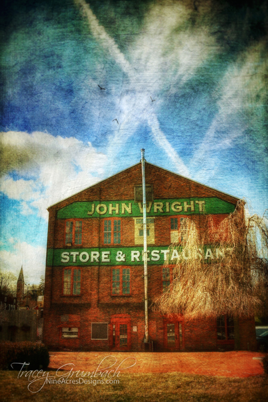 historical store along the Susquehanna River in PA