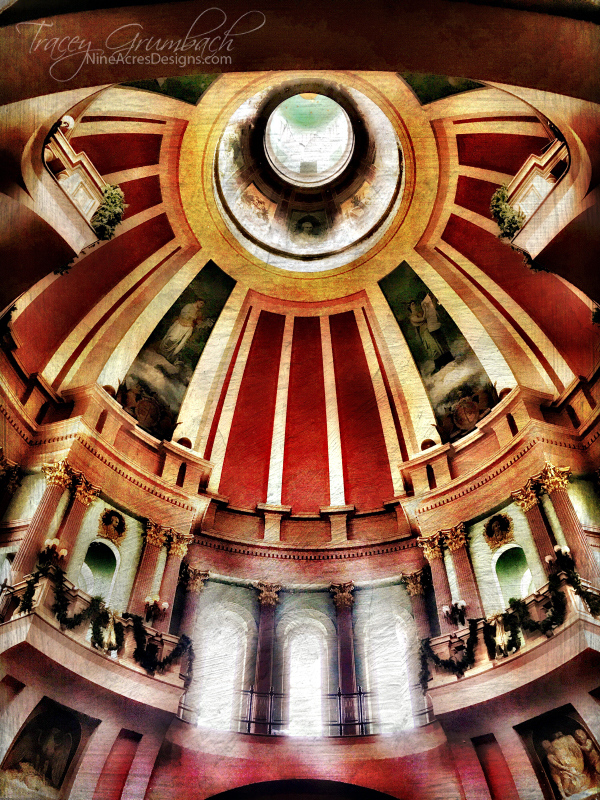 St. Louis Old Courthouse Dome from the inside